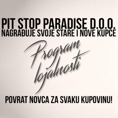 pit stop paradise program lojalnosti