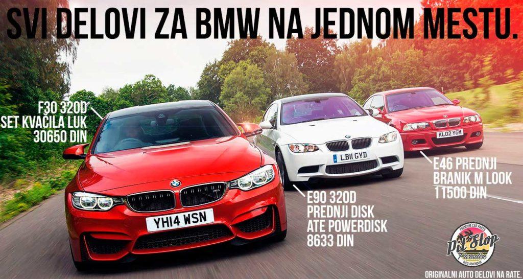 Auto delovi za BMW